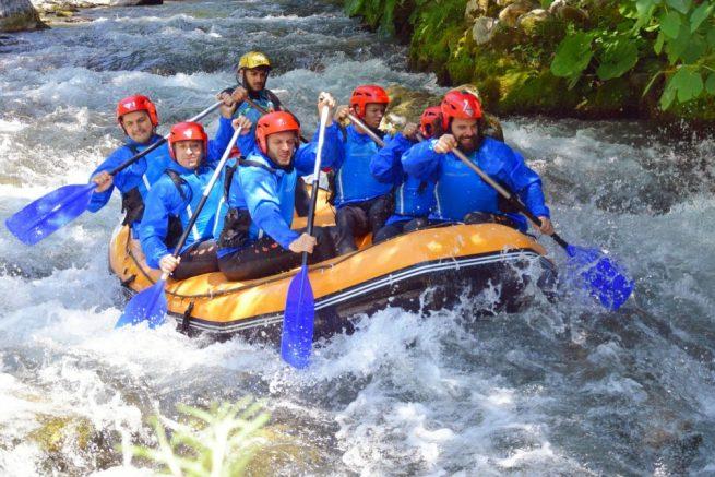 rafting lao